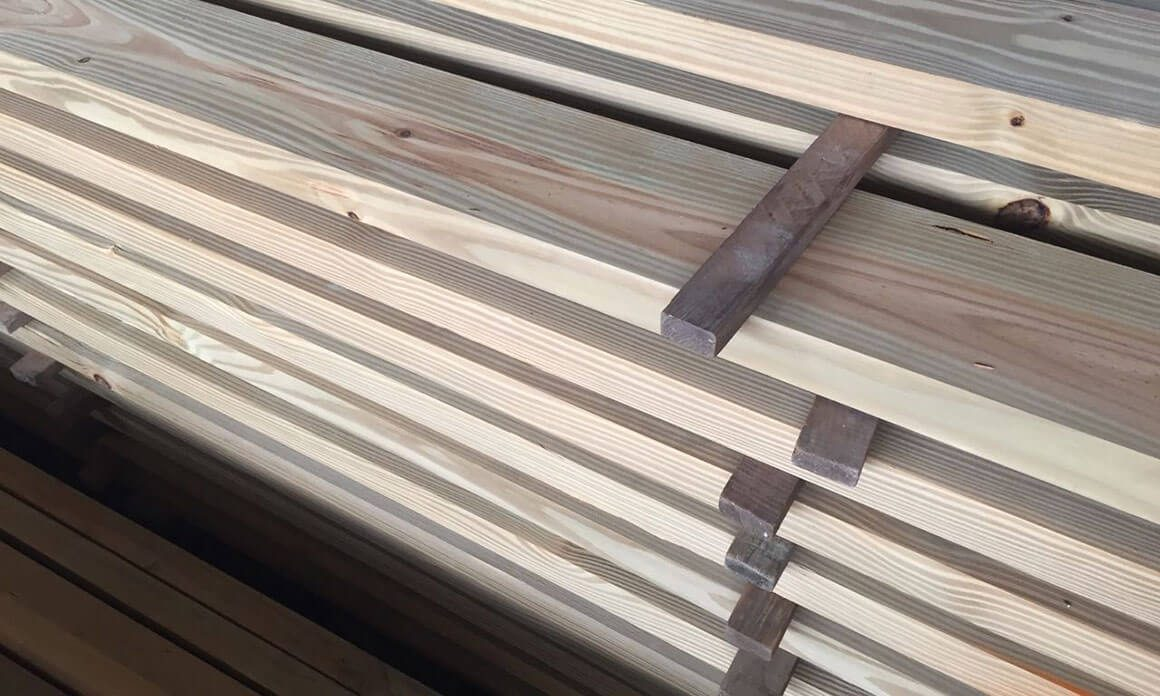 Treatment Vacuum-Pressure-treated wood